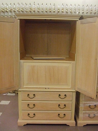 Armoire  Two Door 3 Drawer With Pull Out TV Stand  Manufactured By Drexel