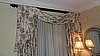 Drapes - with track and Wooden Rod