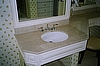 Kohler Bathroom Sink with Brass Faucet