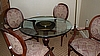 Dinette Table with Glass Top